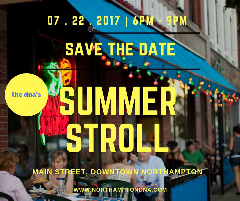 Downtown Northampton Summer Stroll
