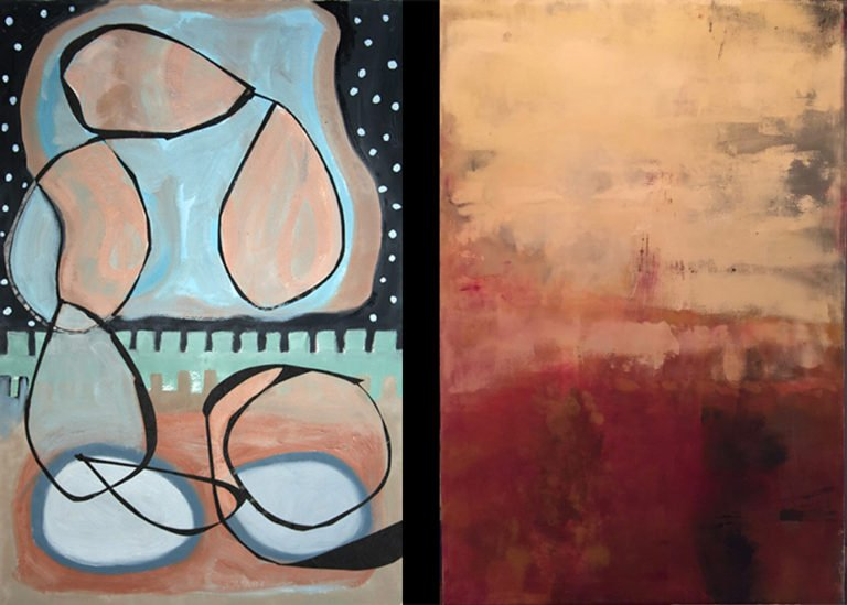 Linda Batchelor and Catherine Swift Show at Oxbow Gallery