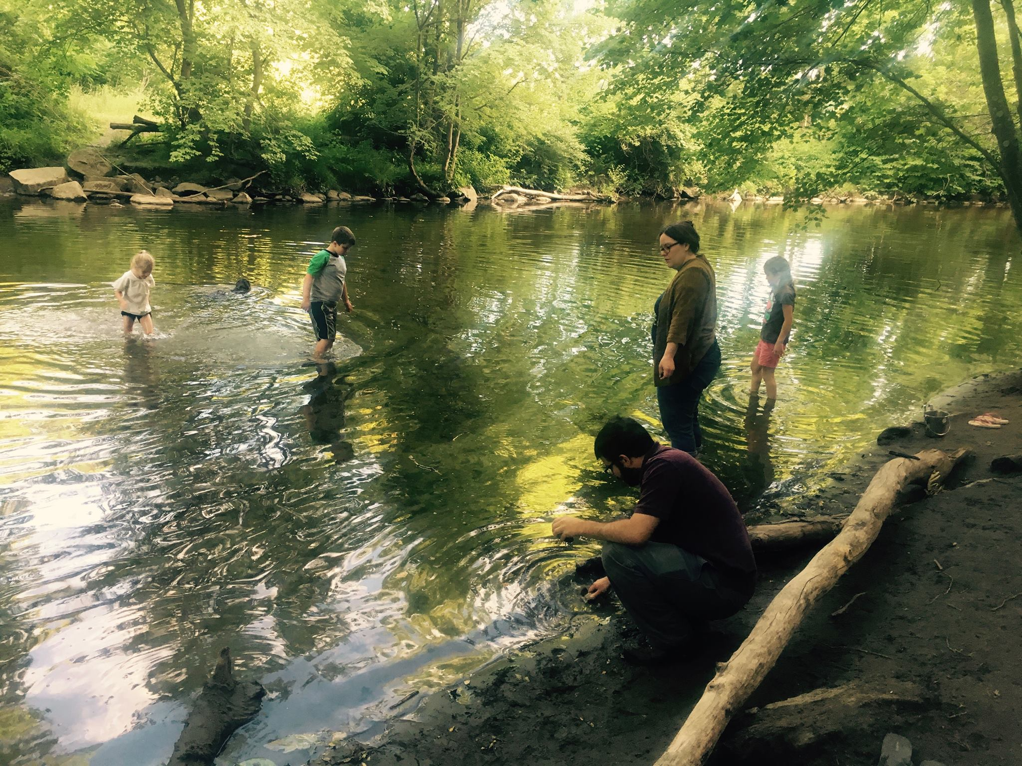 Stones/Water/Time/Breath at the Mill River