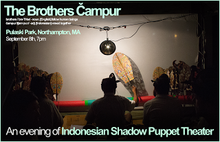 Shadow Puppetry In Pulaski Park With The Brothers Čampur