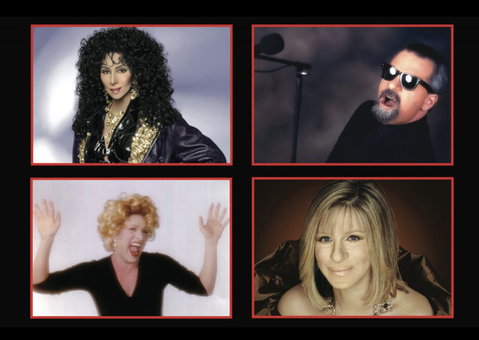 """An Evening with Cher, Billy Joel, Bette Midler, & Barbara Streisand: """"An Evening with the Stars"""" featuring THE EDWARDS TWINS"""