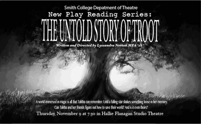 New Play Reading Series: THE UNTOLD STORY OF TROOT