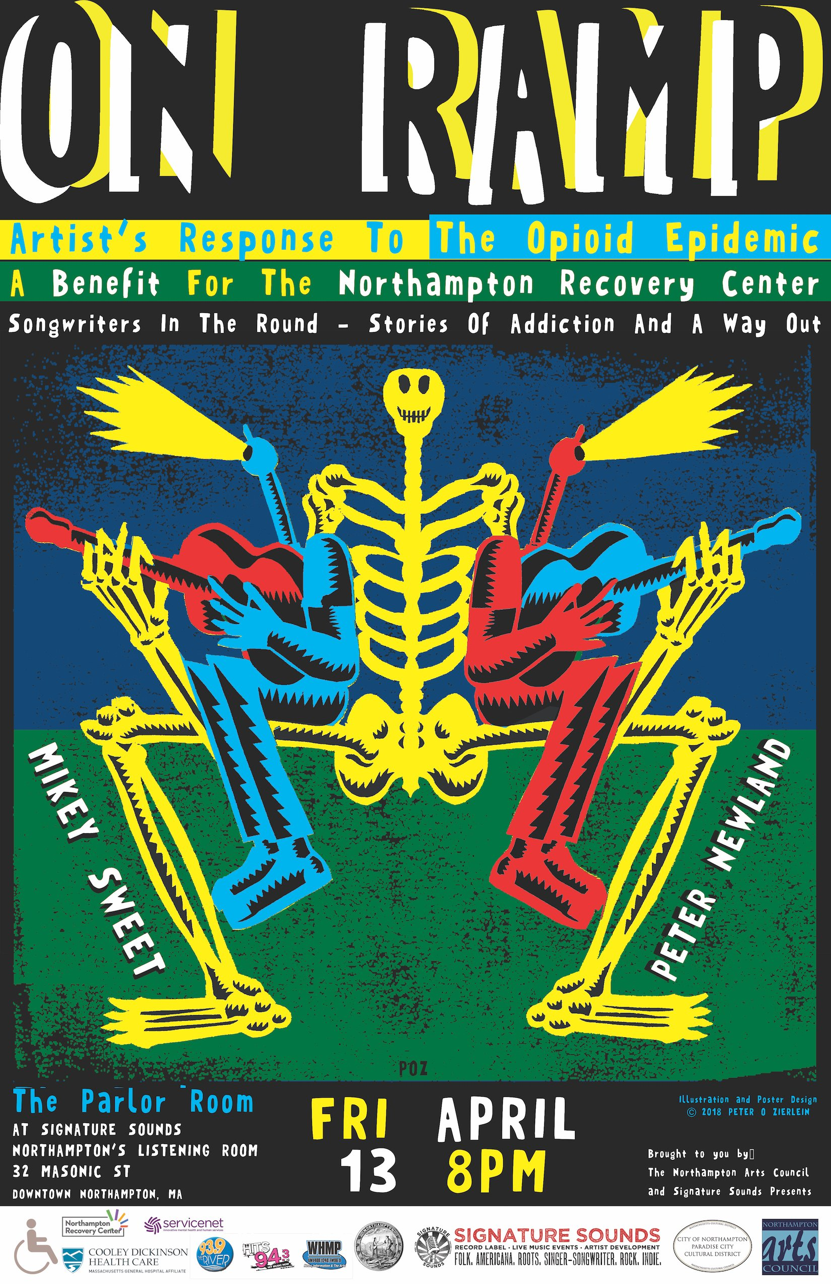 On Ramp: Songwriters in the Round - A Benefit for the Northampton Recovery Center