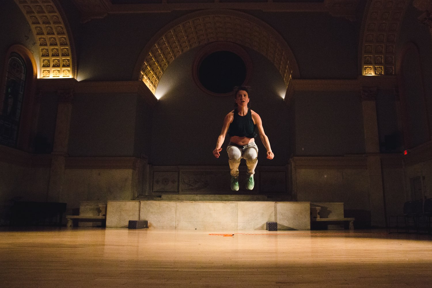"""Dance Artists Meredith Bove and Lailye Weidman's """"Uncertain Distances"""" Residency at A.P.E"""