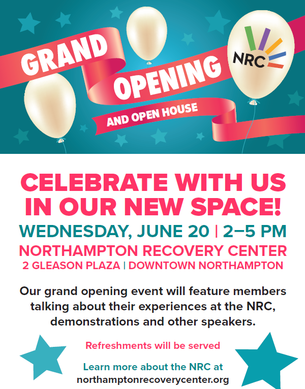 Northampton Recovery Center Grand Opening and Open House