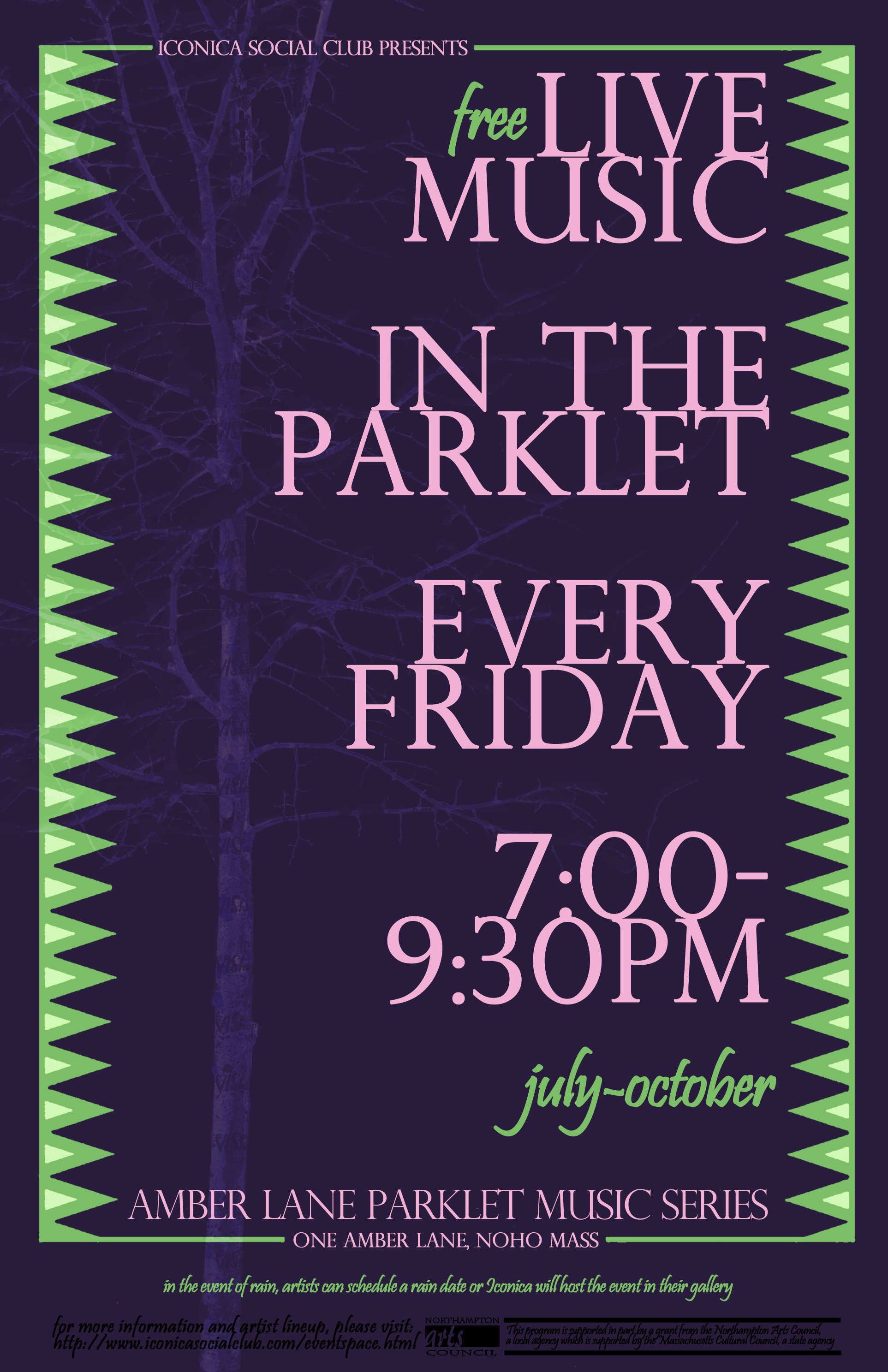 Parklet Music Series, Presented By Iconica Social Club