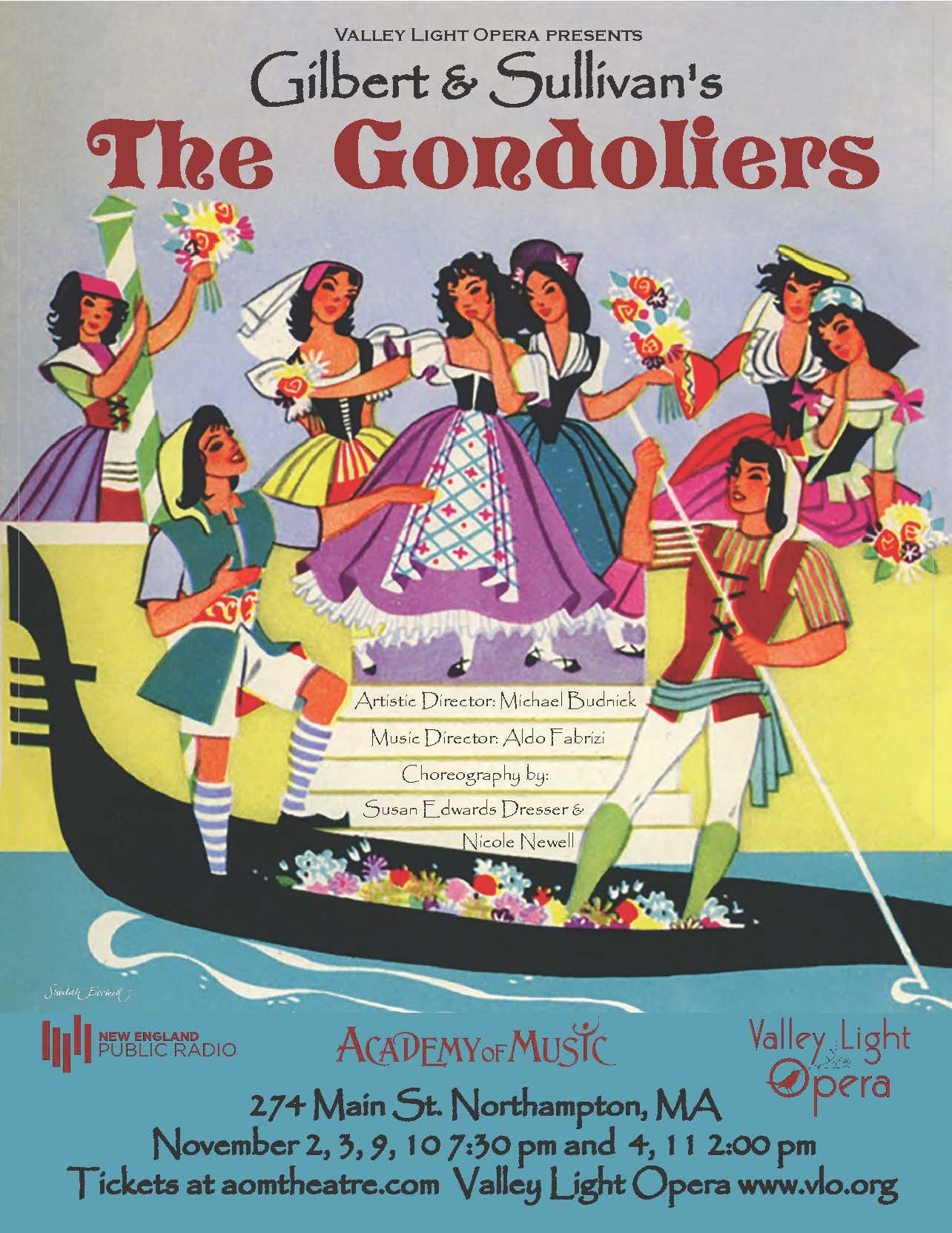 Valley Light Opera presents Gilbert and Sullivan's The Gondoliers