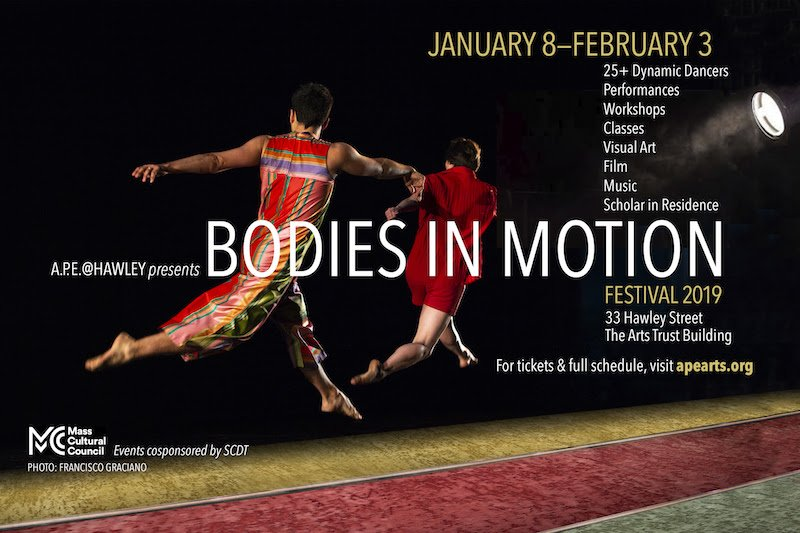 Bodies in Motion: SUNDAYS AT FIVE SERIES New Works performance with Lailye Weidman and Doug LeCours