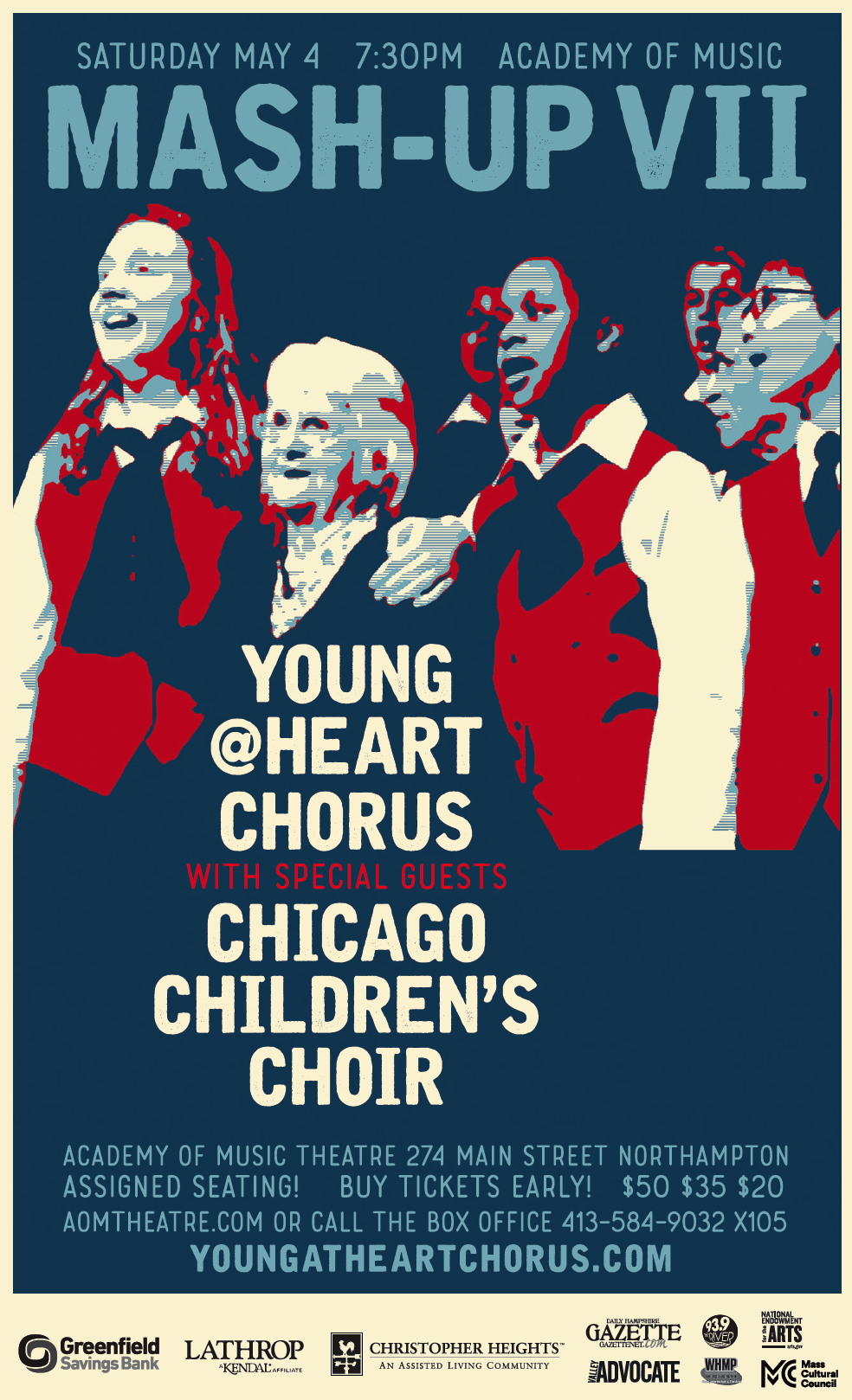 Mash-Up VII: The Young@Heart Chorus (Y@H) and Chicago Children's Choir (CCC)