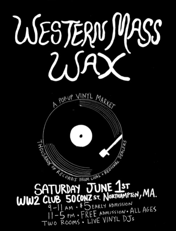 WESTERN MASS WAX: a pop-up vinyl market