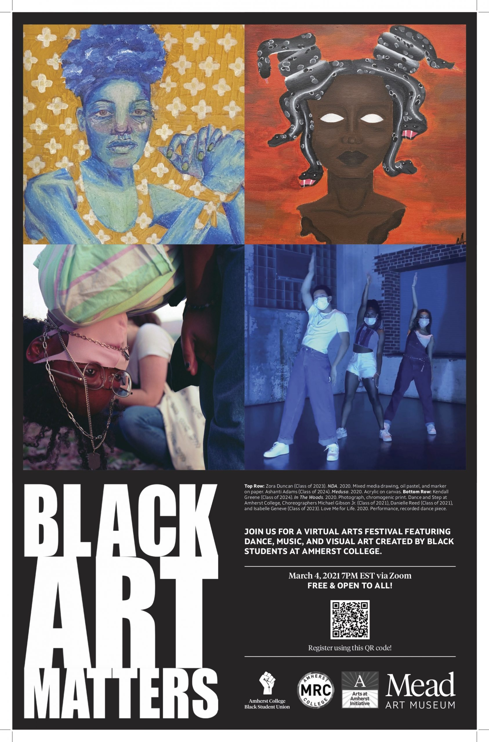 4th Annual Black Art Matters Festival at Amherst College